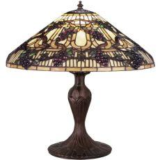 "22"" H Jeweled Grape Table Lamp"