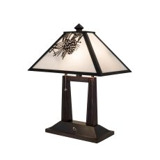 "20"" H Winter Pine Table Lamp"