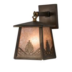 """7"""" W Mountain Pine Hanging Wall Sconce"""
