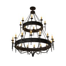 "72"" W Gina 24 Lt Two Tier Chandelier"