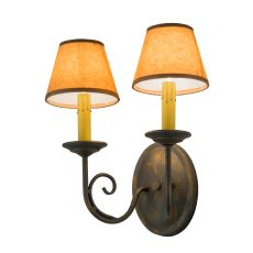"11.75"" W Jenna 2 Arm Wall Sconce"