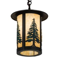 "10"" W Fulton Tall Pines Pendant"