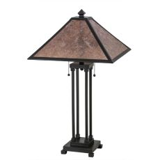 "28"" H Van Erp Table Lamp"