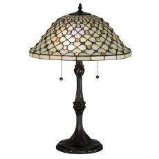"25"" H Diamond & Jewel Table Lamp"