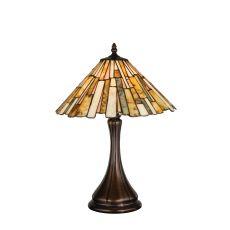 "17"" H Delta Jadestone Accent Lamp"