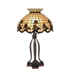 "31.5"" H Roseborder Table Lamp"