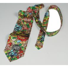 """ Rosebush""  Patterned Meyda Tie"