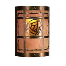 """9"""" W Bungalow Rose Wall Sconce"""