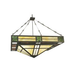 "48"" Sq Bungalow Rose Inverted Pendant"