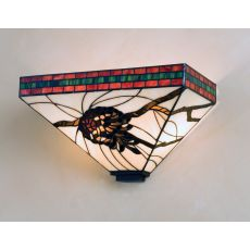 """14"""" W Pinecone Mission Wall Sconce"""