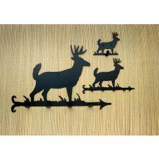 "12"" W Lone Deer Key Holder"