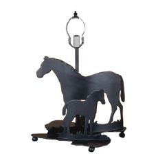 "13.5"" H Mare & Foal Table Base"