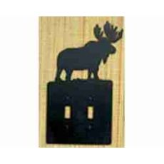Moose Double Switch Plate