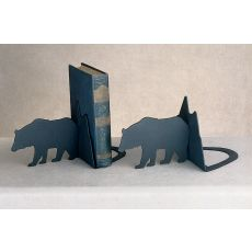 Lone Bear Bookends