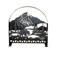 "30"" W X 30"" H Bear Creek Arched Fireplace Screen"