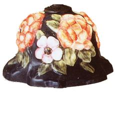 "10"" W Puffy Bonnet Floral Shade"