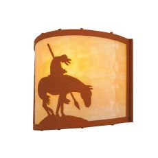 """11"""" W Trail'S End Wall Sconce"""