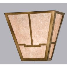 "13"" W Bungalow Valley View Wall Sconce"