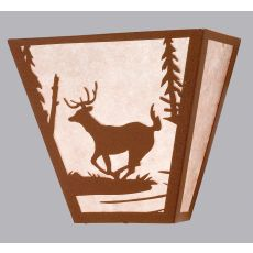 "13"" W Deer Creek Wall Sconce"