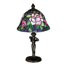 "12"" H Tiffany Rosebush Mini Lamp"