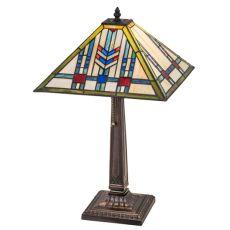 """22"""" H Prairie Wheat Table Lamp"""