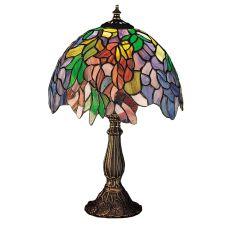 """15.5"""" H Tiffany Laburnum Accent Lamp"""