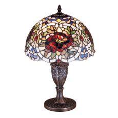 """18"""" H Renaissance Rose Accent Lamp"""