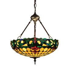 "18"" W Duffner & Kimberly Colonial Inverted Pendant"