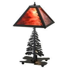 "21"" H Tall Pines Table Lamp"