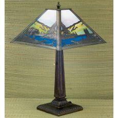 """21.5"""" H Bear Creek Table Lamp"""