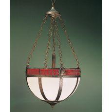 "16"" W Gothic Basket Inverted Pendant"