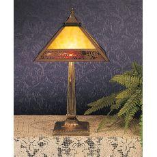"""22"""" H Lotus Leaf Table Lamp"""