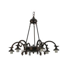 "27.5"" W 6 Lt Chandelier Hardware"
