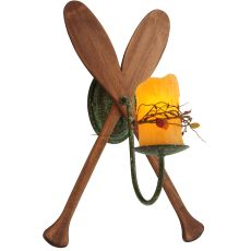"""14"""" W Paddle 1 Lt Wall Sconce"""