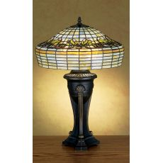 "28"" H Duffner & Kimberly Raised Tulip Table Lamp"