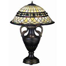 "29"" H TIFFANY ROMAN TABLE LAMP"