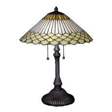 "24"" H Fishscale Jadestone Table Lamp"