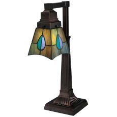 "19.5"" H Mackintosh Leaf Desk Lamp"