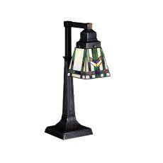 """19.5"""" H Prairie Wheat Desk Lamp"""