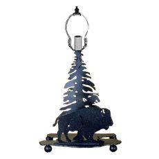 """10"""" H Buffalo Mini Lamp"""