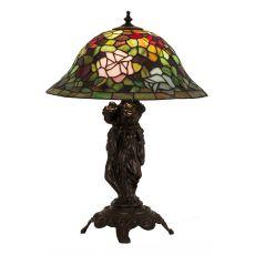 "21.5"" H Rosebush Table Lamp"