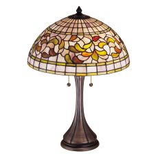 "23"" H Tiffany Turning Leaf Table Lamp"