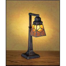 "20"" H Diamond Craftsman Desk Lamp"