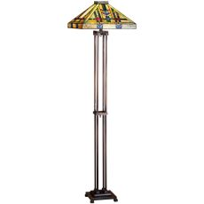 "63"" H Prairie Wheat Floor Lamp"