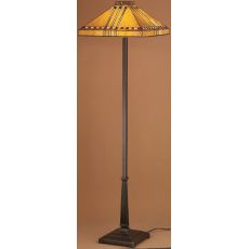 "62"" H Prairie Corn Floor Lamp"