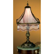 "21"" H Victoria Fringed Table Lamp"