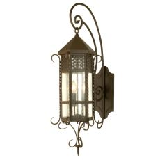 """12"""" W Old London Wall Sconce"""