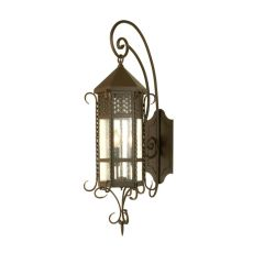 "10"" W Old London Wall Sconce"