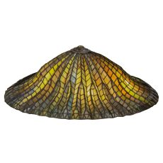 """24"""" W Tiffany Lotus Leaf Shade"""