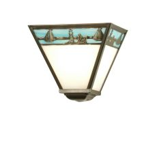 "9"" W Sailboat Wall Sconce"